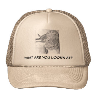 WHAT ARE YOU LOOK'N AT? HAT