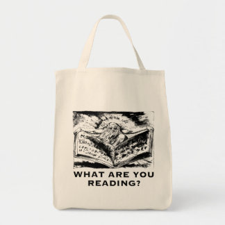 What Are You Reading Urizen Tote Bag