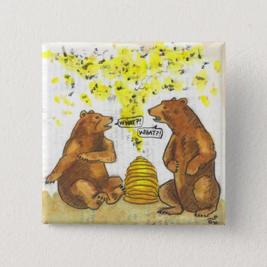 What?! Bears and bees hard of hearing humour