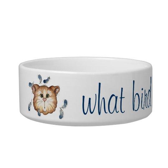 What Bird? - Cat Dish