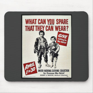 What Can You Spare That They Can Wear? Mousepads