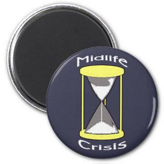 What Crisis? 6 Cm Round Magnet