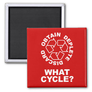 What Cycle? Square Magnet