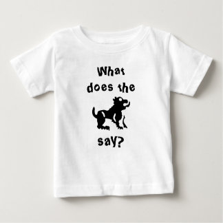 What do the beast say? baby T-Shirt