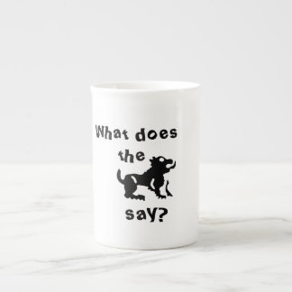 What do the beast say? tea cup