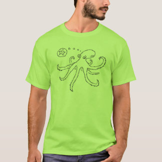 what does an octopus think about? T-Shirt