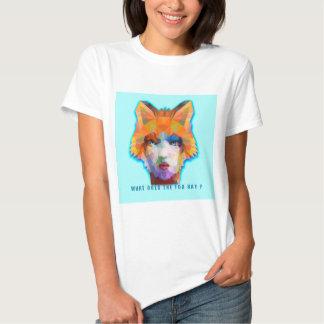 what does the fox say ? tshirts
