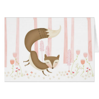 What does the Fox Say? Valentine's Day Card