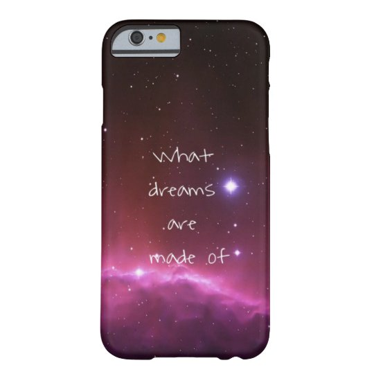 'What dreams are made of' night sky Barely