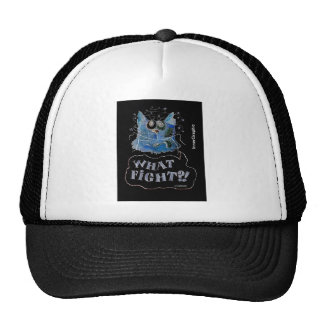 What Fight?! Tom Cat Cartoon Trucker Hat
