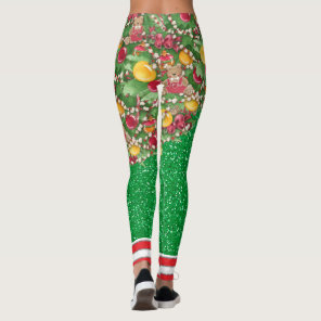 What Fun It Is To Be A Christmas Tree Leggings