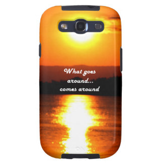 What Goes Around Samsung Galaxy S3 Cover