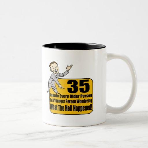 What Happened 35th Birthday Gifts Mugs