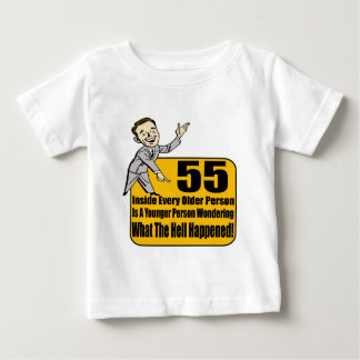 What Happened 55th Birthday Gifts Baby T-Shirt