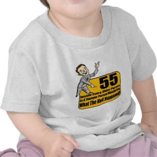What Happened 55th Birthday Gifts Shirts