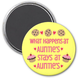 What happens at Auntie's Magnet