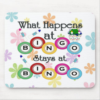 What Happens at Bingo Mouse Mat