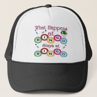 What Happens at Bingo Trucker Hat