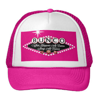 What Happens At Bunco Stays At Bunco Fun Cap