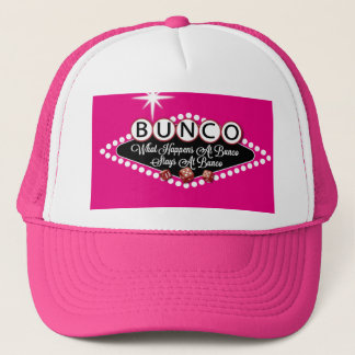 What Happens At Bunco Stays At Bunco Fun Trucker Hat