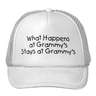What Happens At Grammys Black 2 Trucker Hat