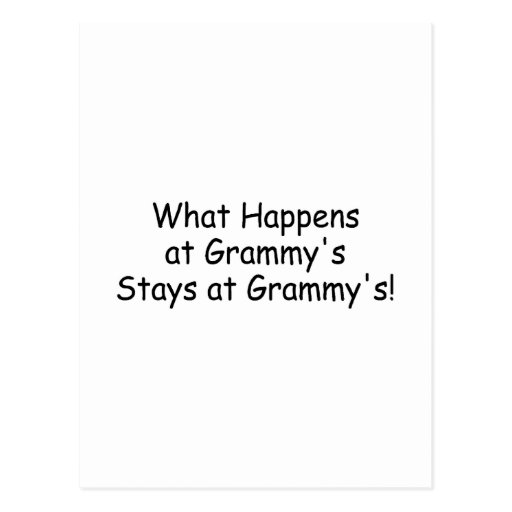 What Happens At Grammys Black Post Cards