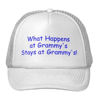 What Happens At Grammys Blue Cap