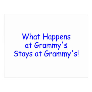 What Happens At Grammys Blue Postcard