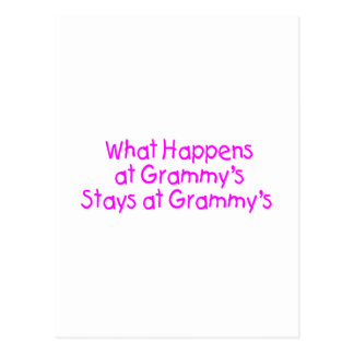What Happens At Grammys Pink 2 Postcard