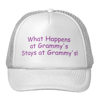 What Happens At Grammys Purple Trucker Hats