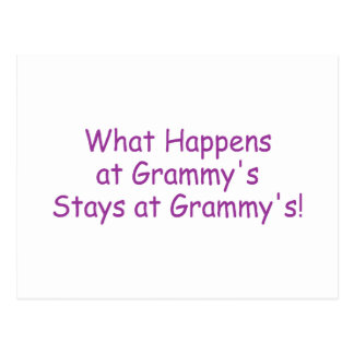 What Happens At Grammys Purple Postcard