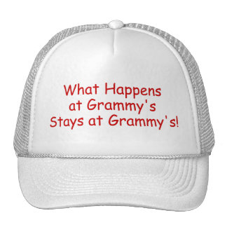 What Happens At Grammys Red 2 Trucker Hat