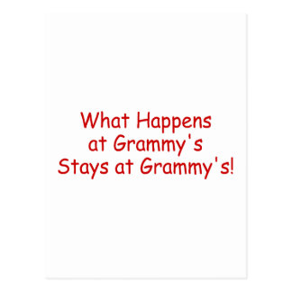 What Happens At Grammys Red 2 Post Card