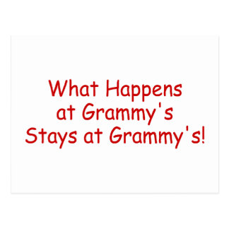 what Happens At Grammys Red 2 Postcards