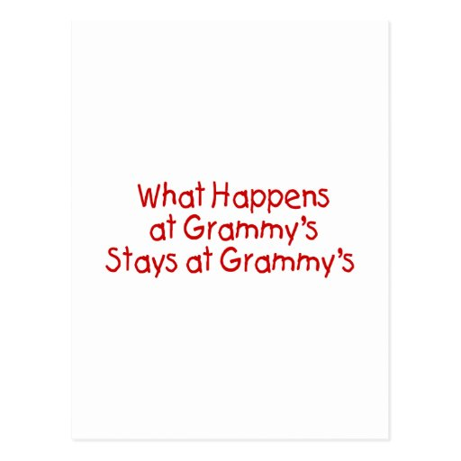 What Happens At Grammys Red Postcards