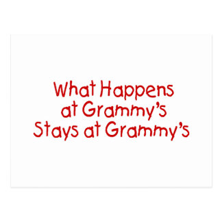 What Happens At Grammys Red Postcard