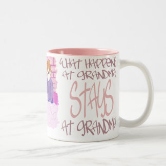 What Happens At Grandmas4 Two-Tone Coffee Mug