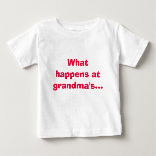 What happens at grandma's stays at grandmas! baby