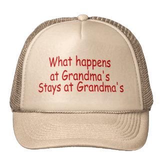 What Happens At Grandma's Stays At Grandma's Cap