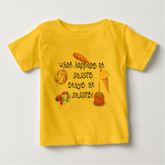 What Happens at Nanni's STAYS at Nanni's Baby T-Shirt