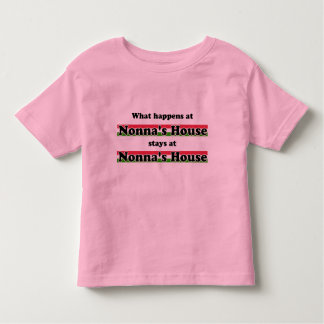 What Happens At Nonna's House T-shirts