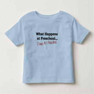 What Happens at Preschool... Toddler T-Shirt