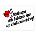 What Happens At The Bachelorette Party...