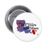 What Happens in Bon Temps 6 Cm Round Badge