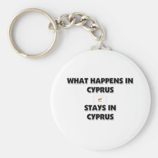 What Happens In CYPRUS Stays There Key Ring