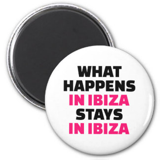 What happens in Ibiza stays Ibiza Magnet
