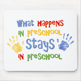 What Happens In Preschool Mouse Mats