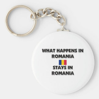 What Happens In ROMANIA Stays There Key Ring