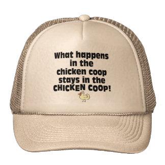 What Happens in the Chicken Coop Cap