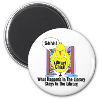 What Happens In The Library... Magnet